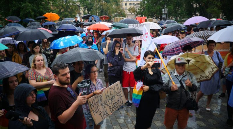 Lublin przeciw przemocy! Solidarnie z Białymstokiem 29.07.19